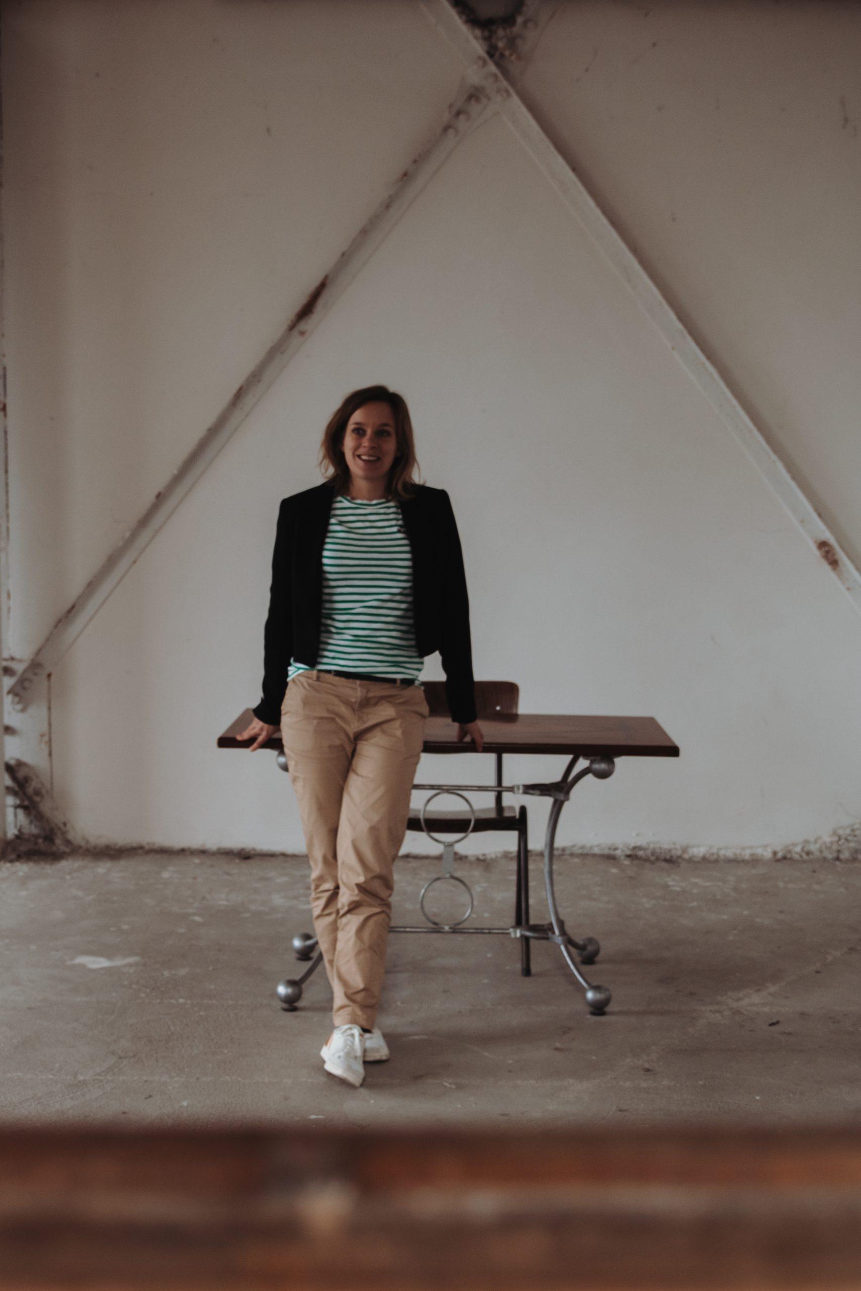 Schrijfster Saskia van den Brand