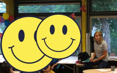 Verrassingsdag voor juffrouw Simone – Basisschool De Blokwei
