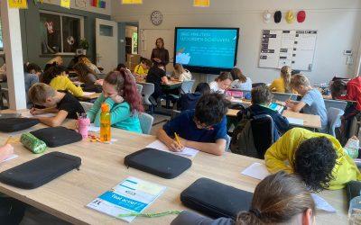 Basisschool BoschAkker aan de slag met creatief schrijven